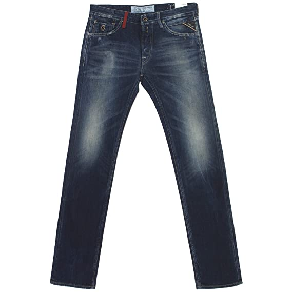 18385 REPLAY Herren Jeans Hose DIATRA Regular Slim MA969