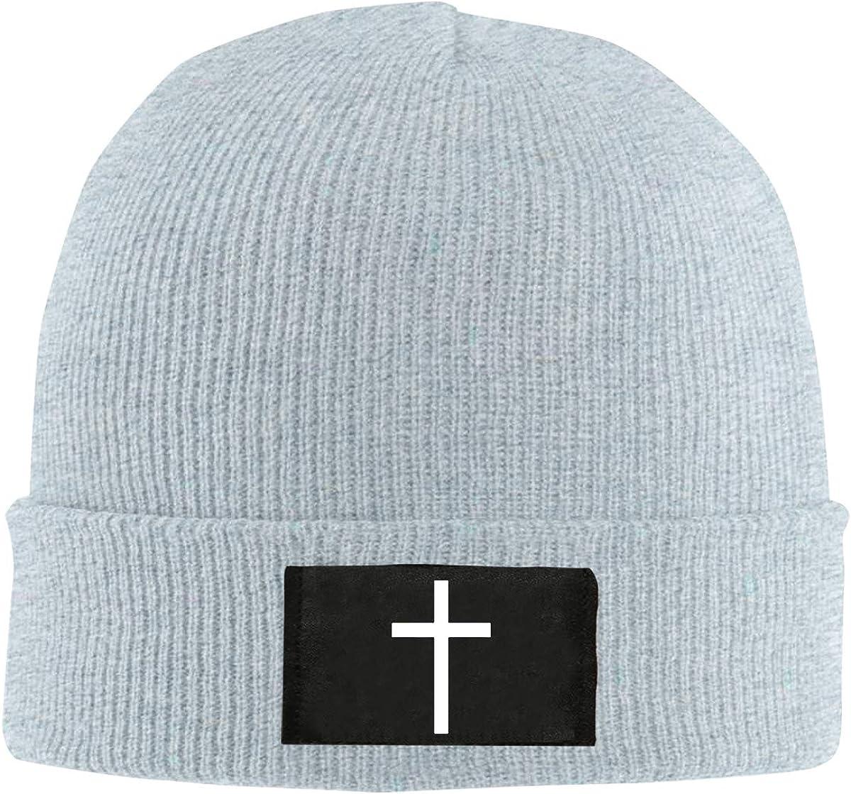 Men Women Cross Platinum Style Skull Hat Beanie Cap Winter Knit ...