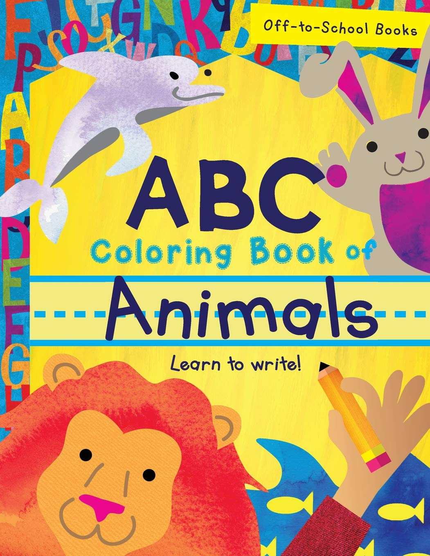 ABC Coloring Book Of Animals (Children\'s Book, Alphabet Book ...