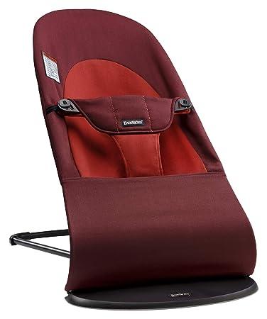 BABYBJORN 2 In 1 Balance Soft Baby Bouncer Chair Rust //Orange Cotton **NEW**
