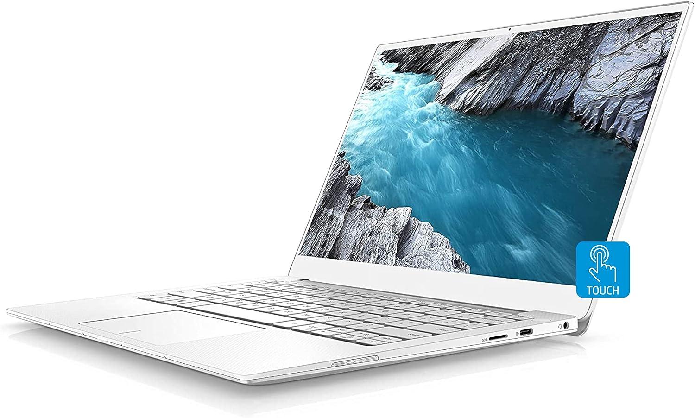 Dell XPS 13 7390 Laptop, 13.3 inch 4K UHD Touchscreen, Intel i7-10710U up to 4.7GHz, 16GB RAM 512GB PCIe SSD, Webcam, Backlit Keyboard, Fingerprint Reader, USB-C, Windows 10 Home, Frost White