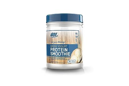 OPTIMUM NUTRITION On Greek Yogurt 14 Servings Protein Smoothie, Vanilla, 1.02 Pound