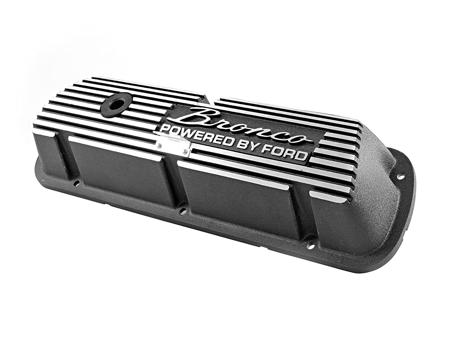Drake Off Road 6A582-B Aluminum Valve Cover for Ford Bronco