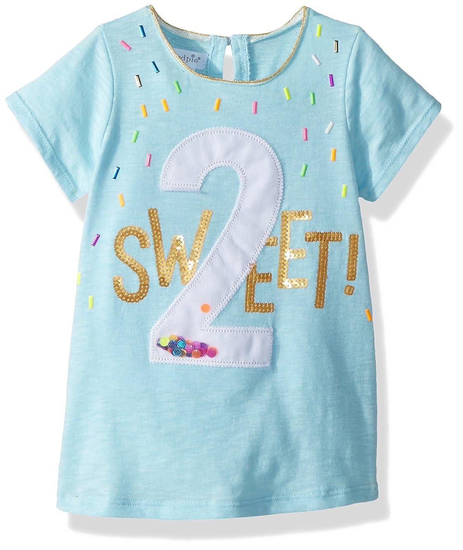 Toddler Mud Pie Womens 2nd Birthday Short Sleeve T-Shirt