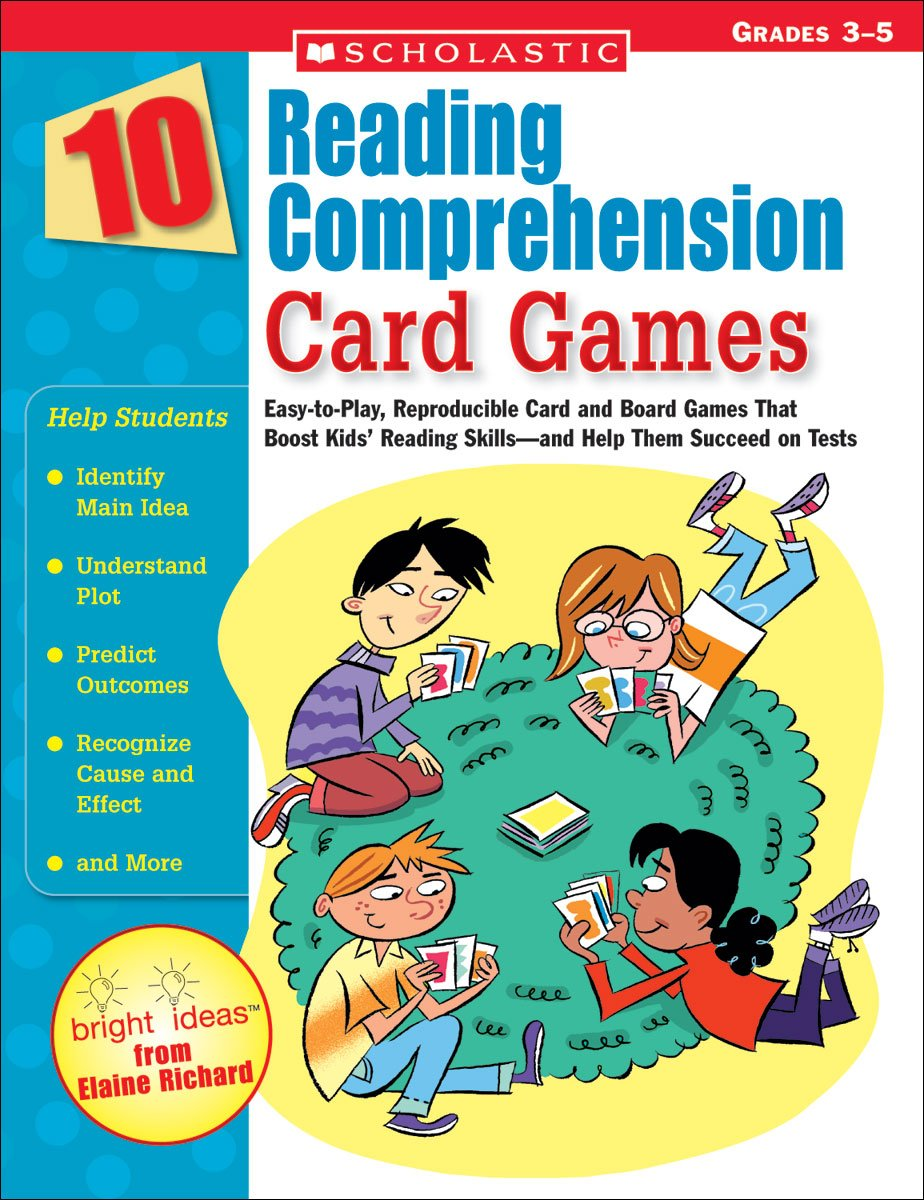Amazon.com: 10 Reading Comprehension Card Games: Easy-to-Play ...