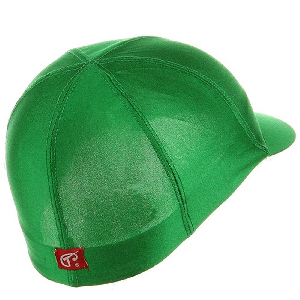 Titan Sport Solid Spandex Pin-Wheel Visor Cap Green #1649 00/_BMAIMTRE/_02