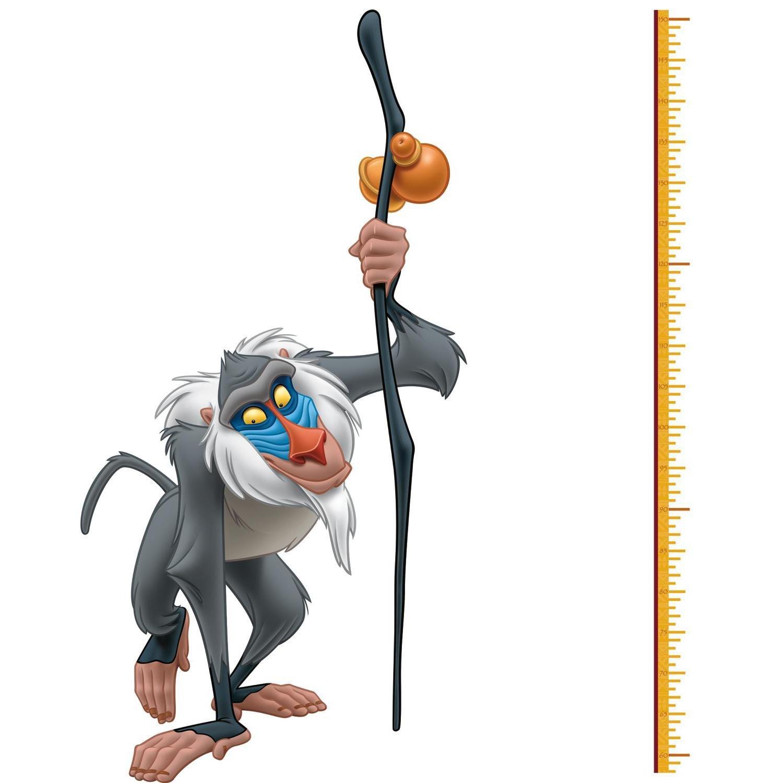 RoomMates Disney Der Der Der König der Löwen Räucherstäbchen Rafiki Höhe Diagramm, mehrfarbig 07c383