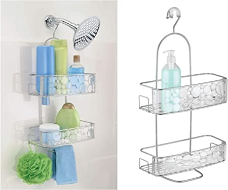 InterDesign Bubbli colgador ducha | Perchero baño para colgar en ...