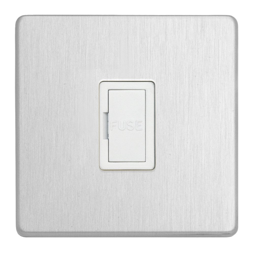 White Contactum FLP3364BSW 13A Unswitched