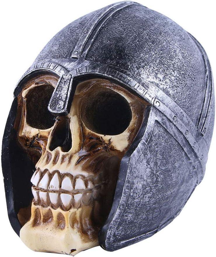 VOANZO Figura de calavera de resina coleccionable modelo de decoraci/ón de esqueleto para Halloween decoraci/ón del hogar