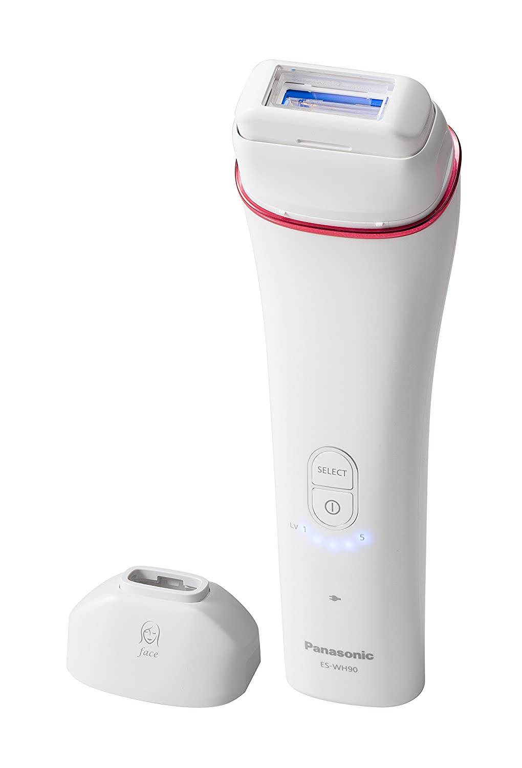 Panasonic ES-WH90 Cordless IPL Hair Removal System with Facial attachment ES-WH90-P811
