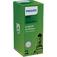Philips 12362LLECOC1 LongLife EcoVision H11 koplamp 12362LLECOC1, 1 stuk doos