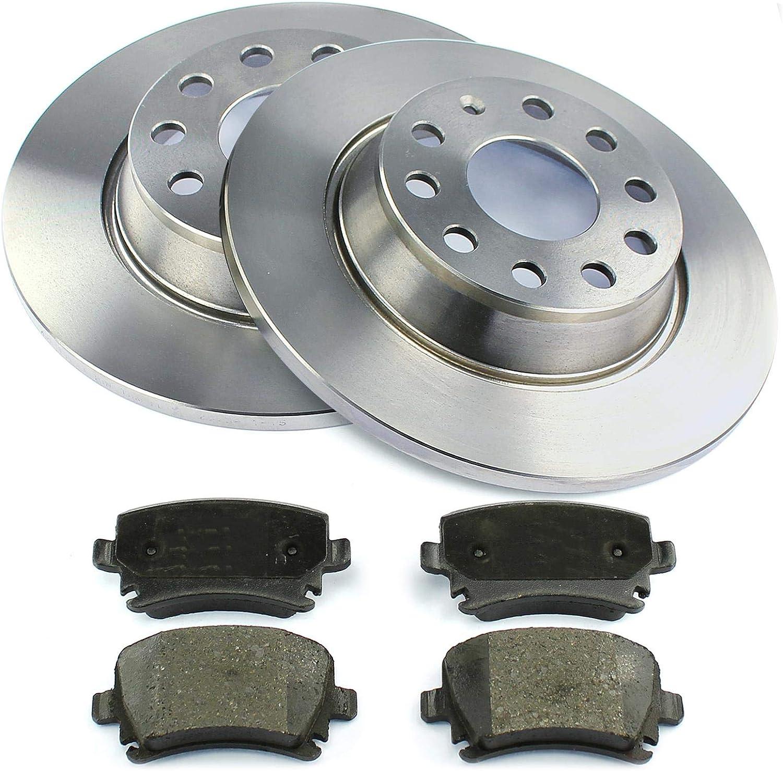 Bremsen Bremsscheiben Bremsbeläge Hinten Nb Parts Germany 10041419 Auto