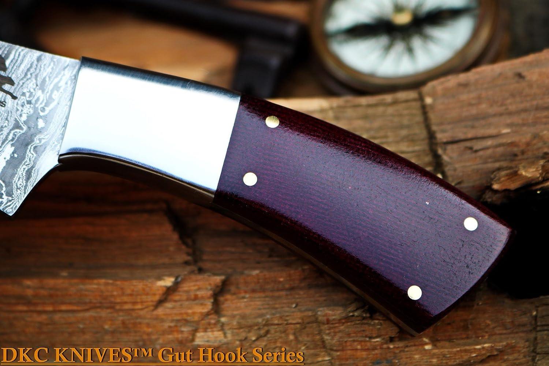 Amazon.com: DKC cuchillos dkc-966 vuelo de pájaro Gut gancho ...