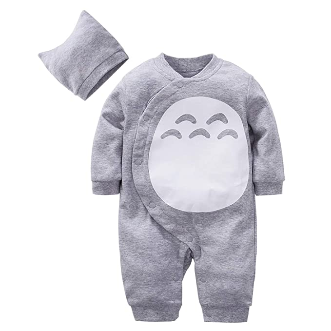 a5ea05478090 Amazon.com  Beal Shopping Cute Cartoon Baby Romper Newborn Infant Toddlers  Boy Girl Cosplay Costume Clothing  Clothing