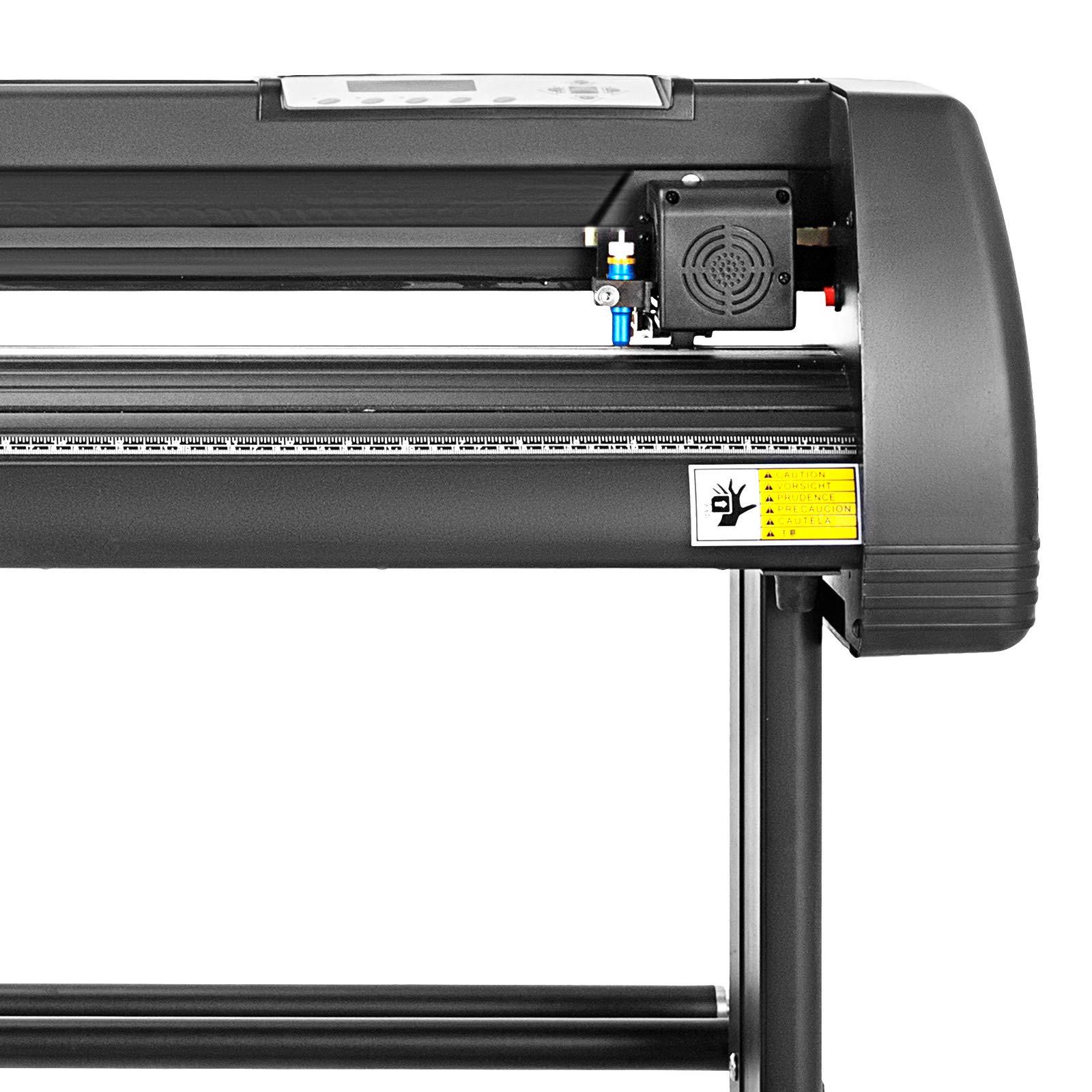 Mophorn Vinyl Cutter 28 Inch Vinyl Cutter Machine 720mm Vinyl Printer Cutter Machine LCD Display Vinyl Plotter Cutter Machine Signmaster Software Sign Making Machine with Stand by Mophorn (Image #5)