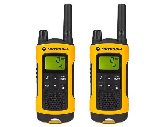 106 opinioni per Motorola T80 Extreme Walkie Talkie 8channels two-way radio- two-way radios (AAA,