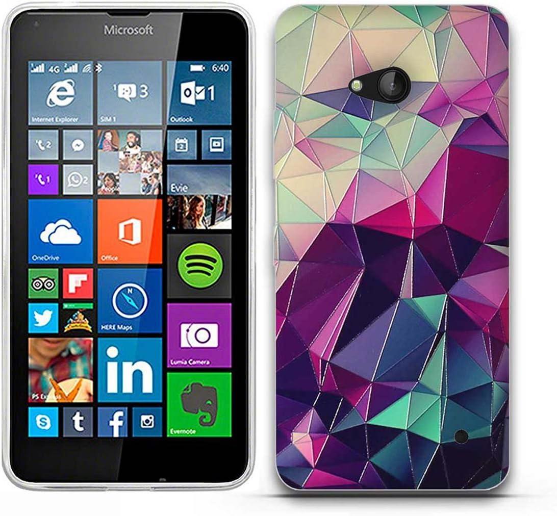 Microsoft para Nokia Lumia 640-Fubaoda-Fantasía Patrón,Fina ...