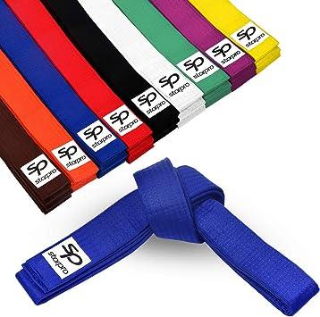 Todas Las Tallas y Colores Taekwondo KO Cinturon Artes Marciales para ni/ños y Adultos Karate Judo Dr etc