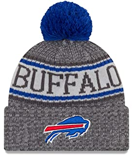 2b3057707ba9 New Era Buffalo Bills Gray/Graphite Sport Knit NFL 2018 Beanie Unisex Hat  Graphite,