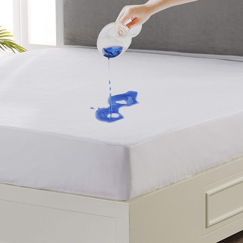 Seward Park Premium Hypoallergenic Waterproof Mattress Protector 18 Inch Depth King Size Home Kitchen