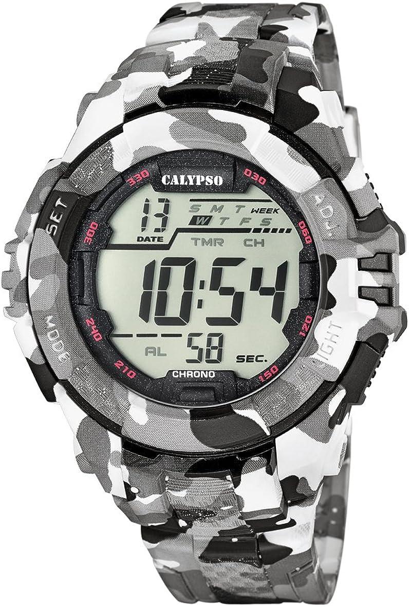 Calypso K5681/1 - Reloj de Pulsera Hombre, Plástico, Color