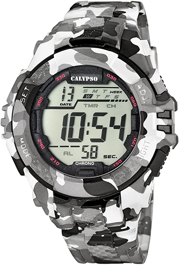 Calypso K5681/1 - Reloj de Pulsera Hombre, Plástico, Color Multicolor