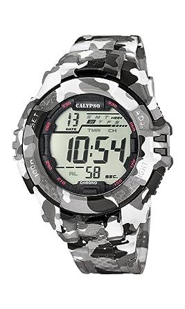 Calypso K5681/1 - Reloj de Pulsera Hombre, Plástico, Color: Amazon.es: Relojes