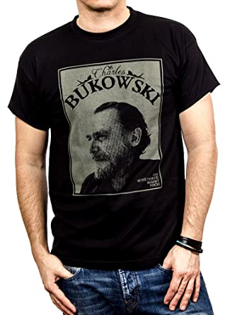 Makaya Camisetas Con Frases Originales Chalres Bukowski