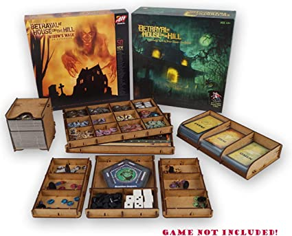 docsmagic.de Organizer Insert for Betrayal at House on The Hill 2nd + Widow Walk Box - Encarte: Amazon.es: Juguetes y juegos