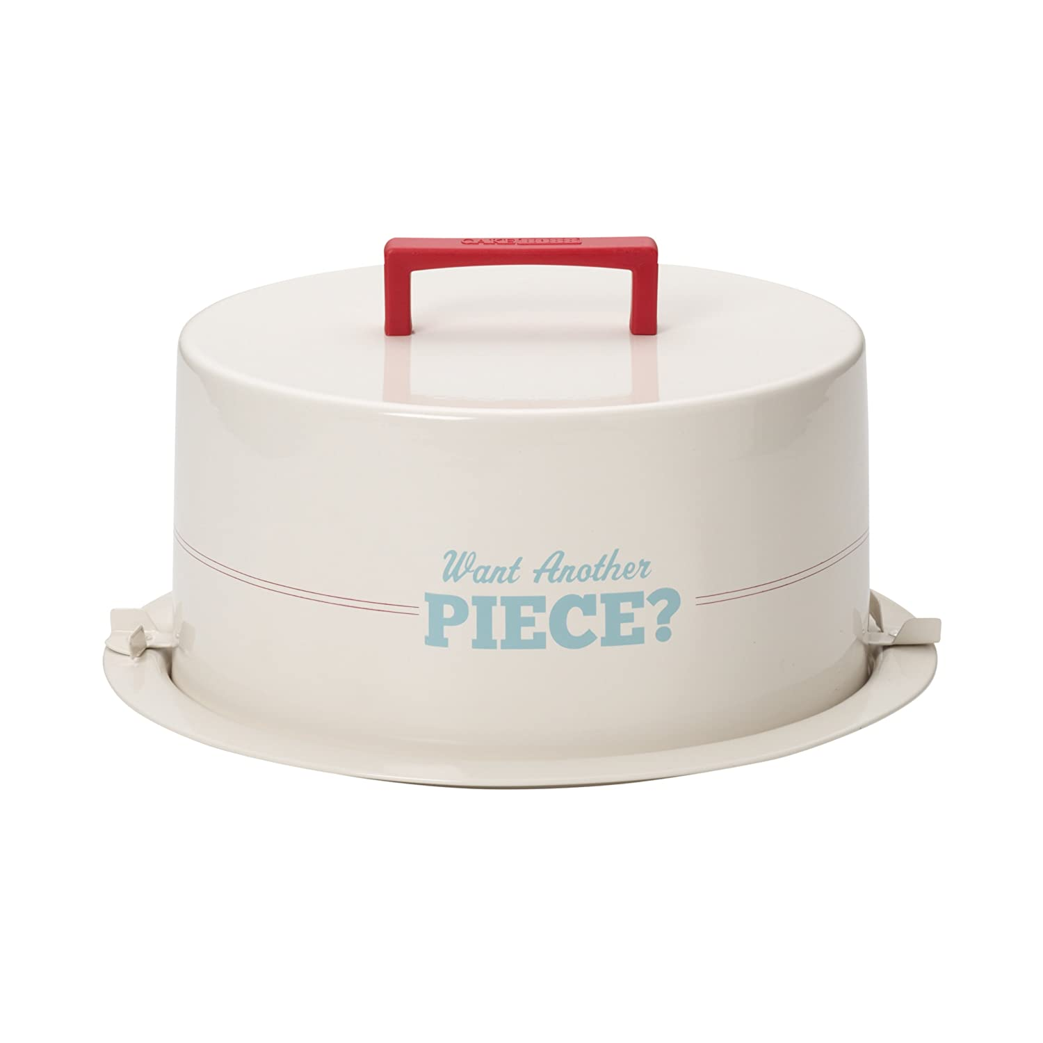 Cake Boss Novelty Serveware Cake Carrier Want Another Piece
