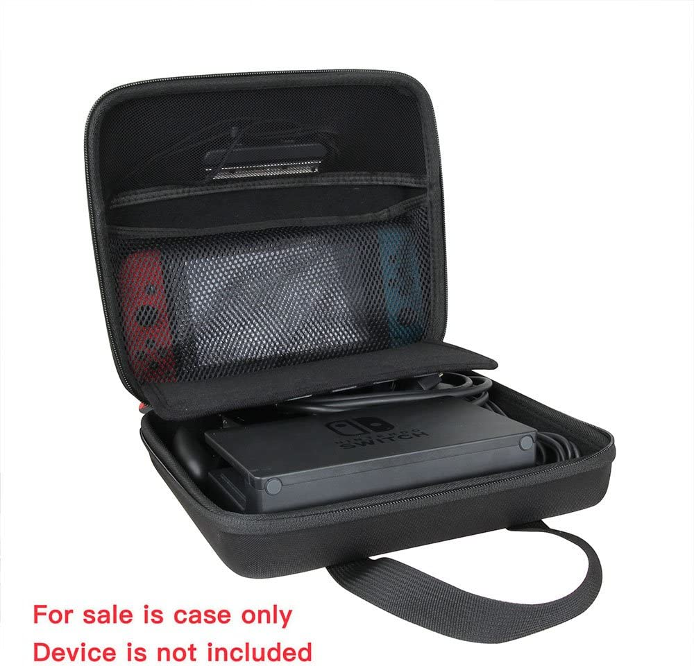 Hermitshell Travel Case for Learning Resources 100 Piece Deluxe Building Set Black