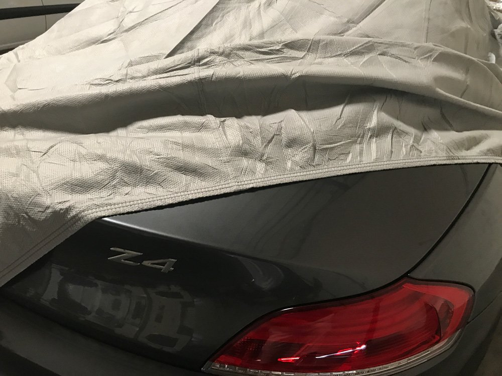 709870731907 Gray CarsCover Custom Fit 2006-2016 BMW Z4 Roadster Car Cover Heavy Duty Weatherproof Ultrashield Covers