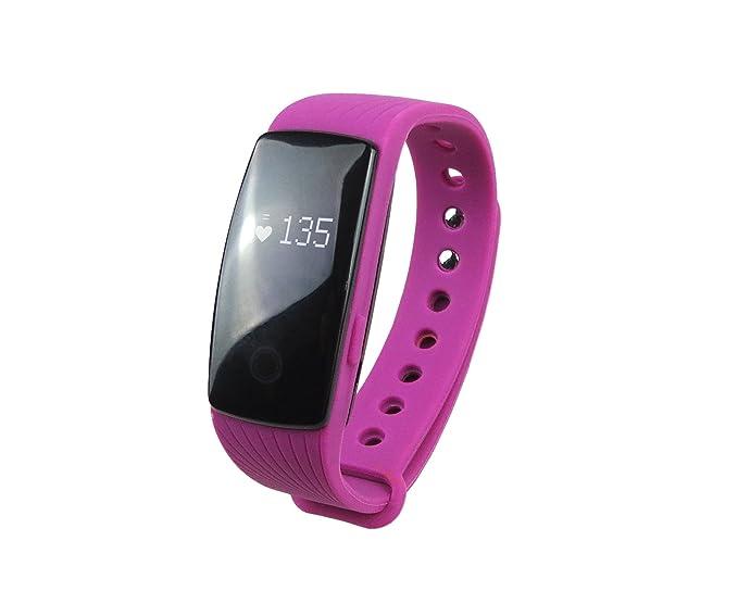 surmos id107 Smart pulsera Monitor de ritmo cardíaco ...