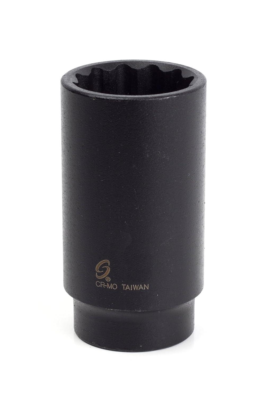 Sunex 267014 1/2-Inch Drive 1-3/16-Inch 12-Point Deep Impact Socket Sunex International