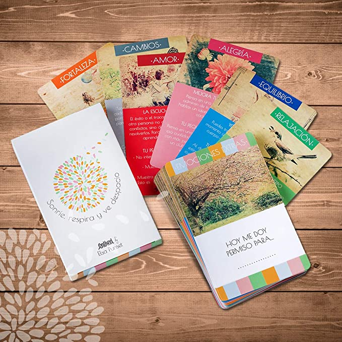 SANTIVERI Cartas Juego de Las emociones by Elsa Punset