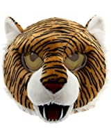 Maskimals Tiger Head Mask Large Halloween Costume