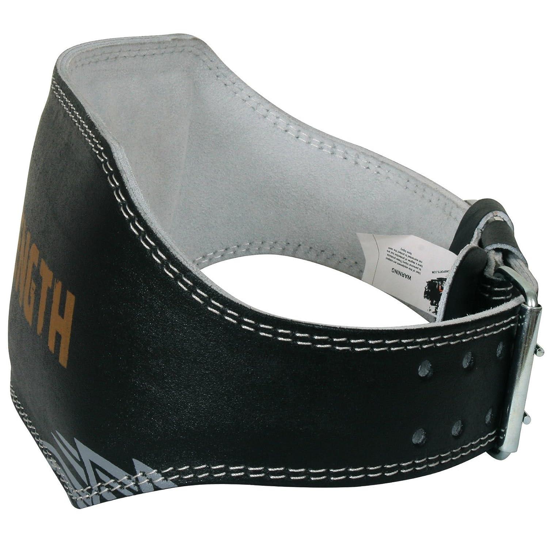 Cintur/ón de cuero para musculaci/ón y levantamiento de pesas 15 cm