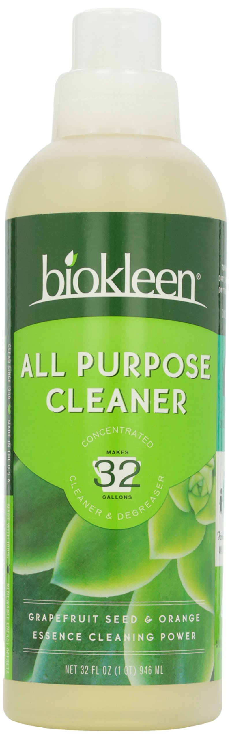 Biokleen Bac Out Bathroom Cleaner Lavender Lime Extracts 32 Ounce Health