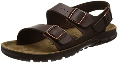 768eaff120ed6 Birkenstock Women´s Kano Dark Brown synthetic Sandals 39 M EU R 500801