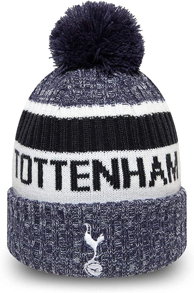 Multi-Colour Tottenham Text Cuff Knitted Hat
