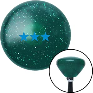 American Shifter 207034 Green Retro Metal Flake Shift Knob with M16 x 1.5 Insert (Blue Vice Admiral)