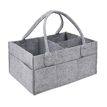 Amazon.com: ablest práctica bolsa de pañales de bebé Nursery ...