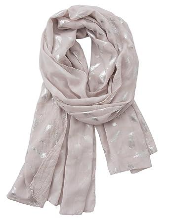eb7634c01926 Yidarton Écharpe Femme Foulard Châle Cachemire Pour Automne Et Hiver  Foulards (Pink)