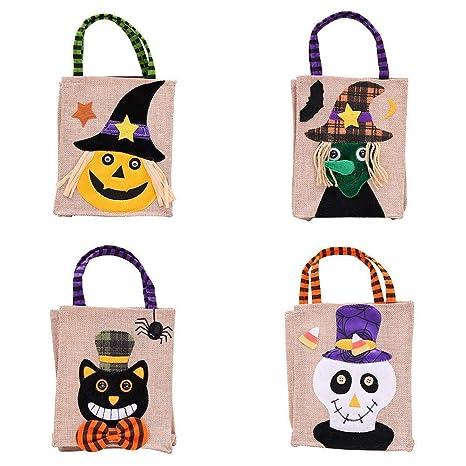 9b88a27182b7 Amazon.com: Polymer Candy Bags Children's Halloween Party Dress up ...