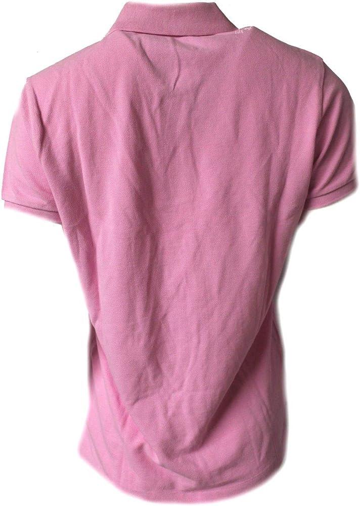 Polo Ralph Lauren - Polo - para Mujer Rosa Rosa L: Amazon.es: Ropa ...
