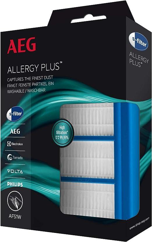 AEG AFS1W Filtro Aspiradora, Azul: Amazon.es: Hogar