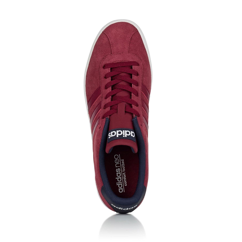 Adidas Herren Court Court Court Vulc Low-top, rot  99b8fc