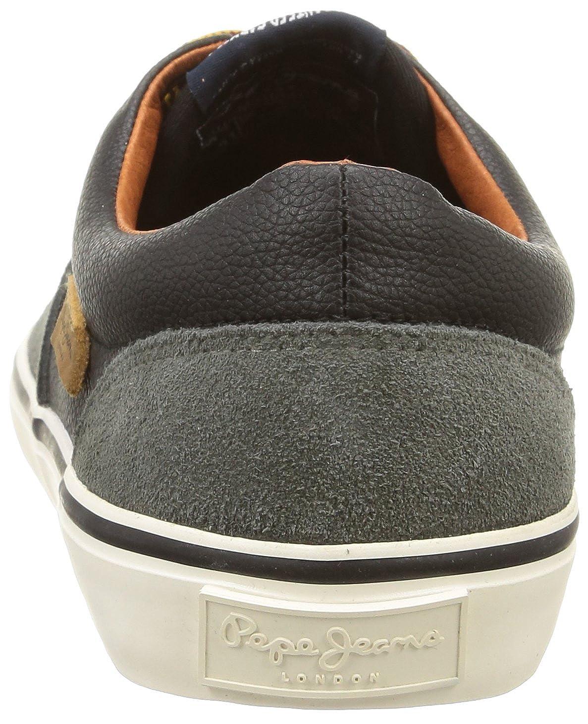 Pepe Jeans Harry Basic, Herren Sneaker Grau Gris (962Factory