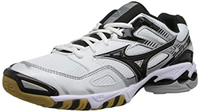 Mizuno Women's Wave Bolt 3 Volley Ball Shoe,White/Black,7 ...